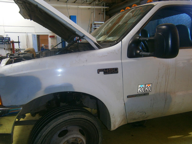 Ford F450 Diesel Truck Service